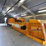 Combi separator metal recycling