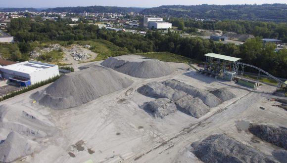 bottom ash processing plant