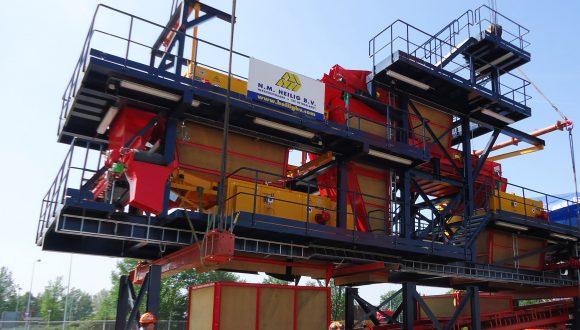 Metalltrennungsanlage - Planung, Fertigung und Montage