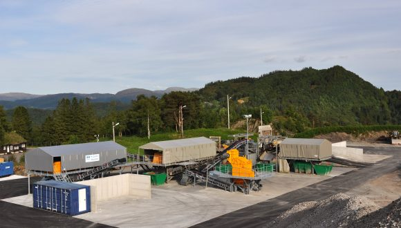 bottom ash recycling plant