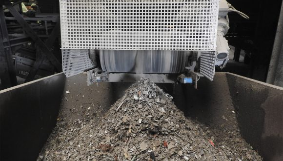 dry metal separation