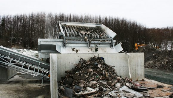 metal recycling plant