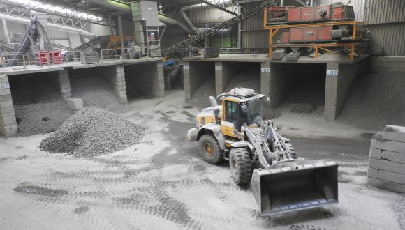 metal separation plant