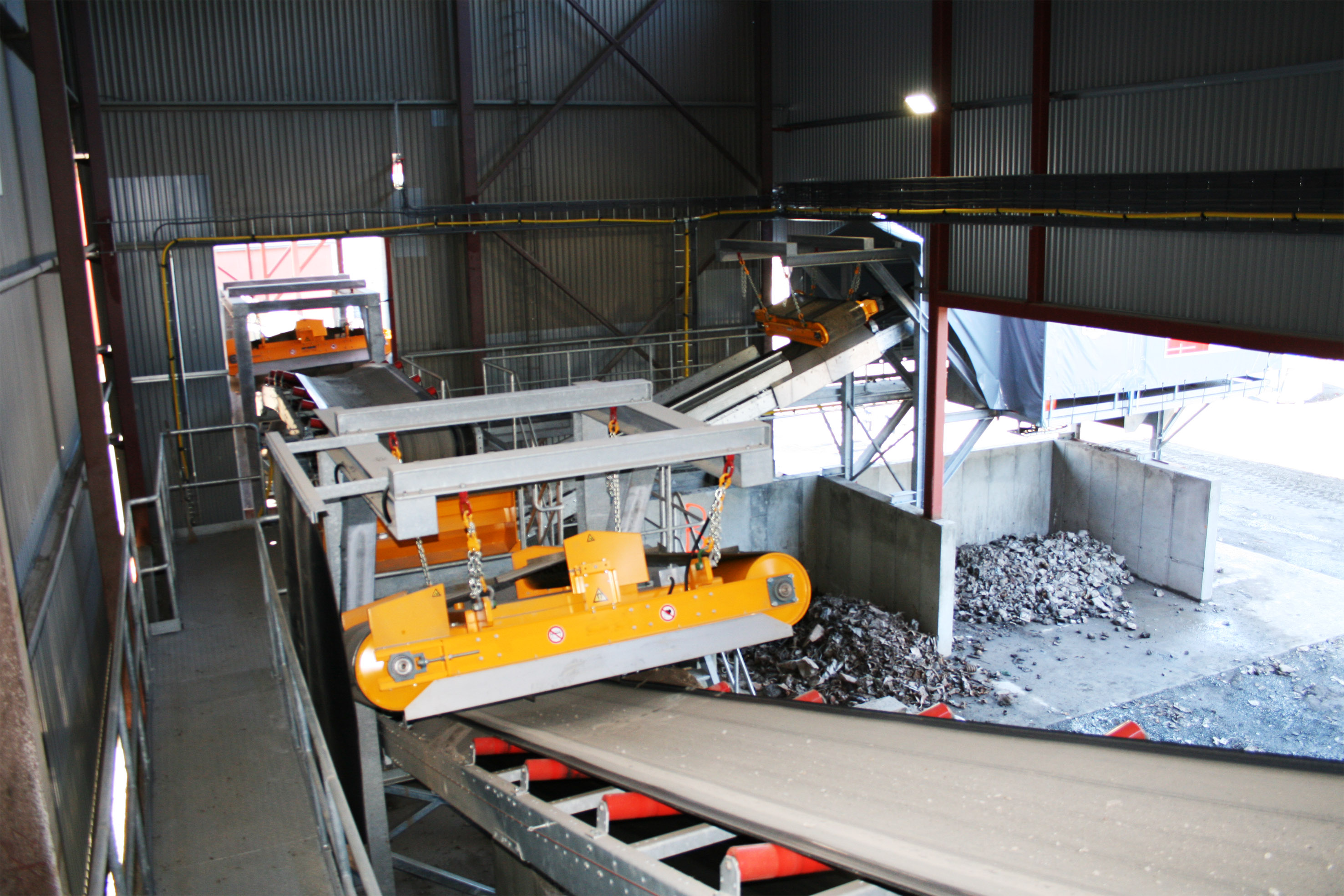 non-ferrous recycling installation