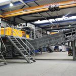 recovery system for ferrous metals, non-ferrous metals and mineral elements
