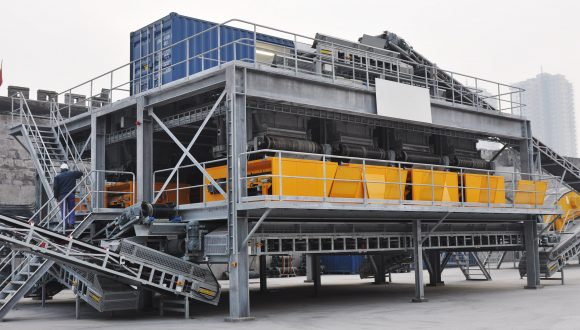 stainless steel scrap recovery system